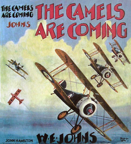 The Camels are Coming - Dust jacket of 01-01