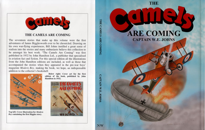 The Camels are Coming - Dustjacket of 01-13