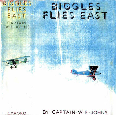 Biggles Flies East - Cover of 07-02