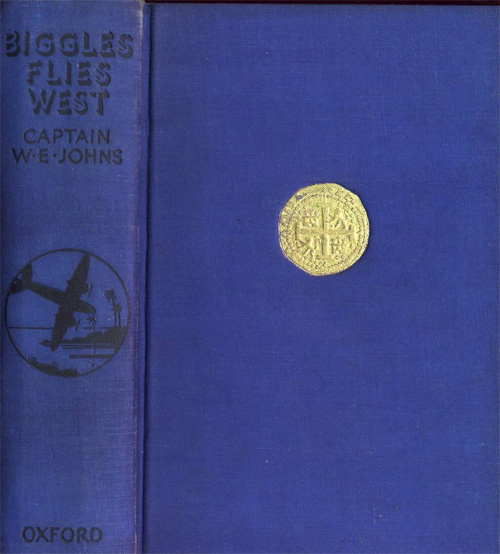 Biggles Flies West - Binding of 13-01