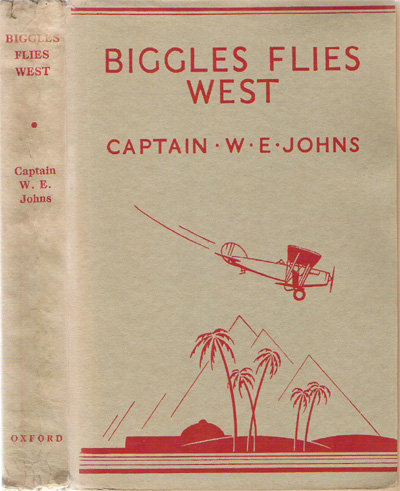 Biggles Flies West - Binding of 13-03