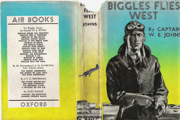 Biggles Flies West - Cover of 13-03