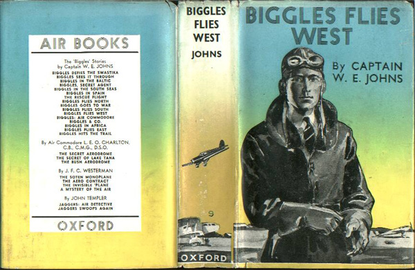 Biggles Flies West - Cover of 13-04
