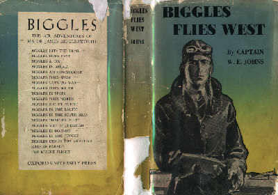 Biggles Flies West - Cover of 13-06