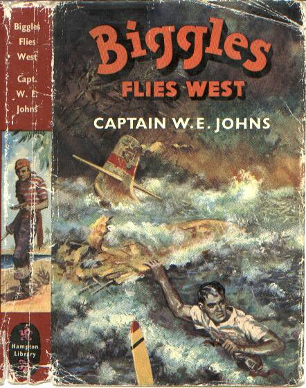 Biggles Flies West - Cover of 13-10
