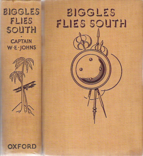 Biggles Flies South - Binding of 14-01