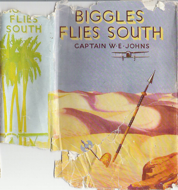 Biggles Flies South - Cover of 14-01