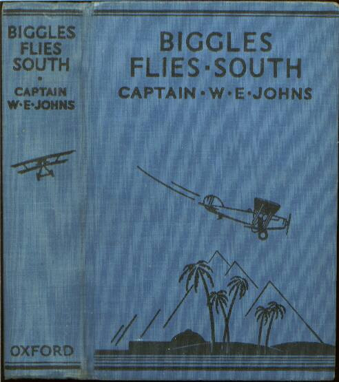 Biggles Flies South - Binding of 14-02