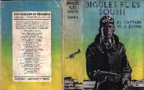 Biggles Flies South - Cover of 14-02
