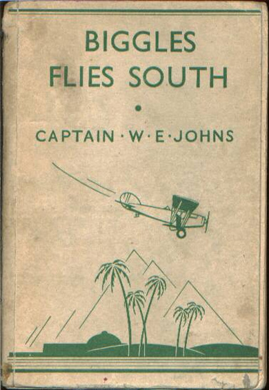Biggles Flies South - Binding of 14-03