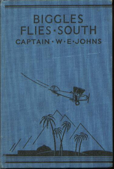 Biggles Flies South - Binding of 14-04