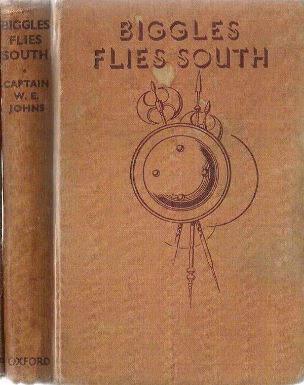 Biggles Flies South - Binding of 14-05