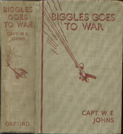 Biggles Goes To War - Binding of 15-01