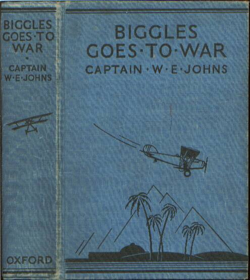 Biggles Goes To War - Binding of 15-02