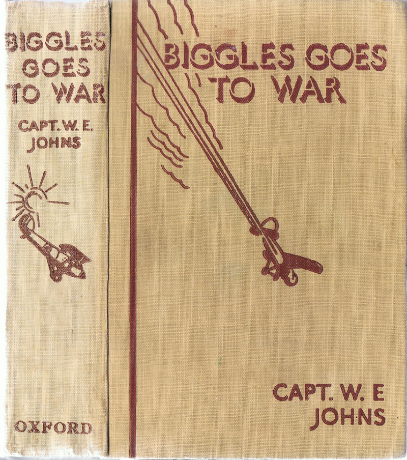 Biggles Goes To War - Binding of 15-04