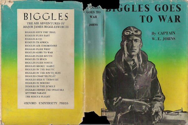 Biggles Goes To War - Cover of 15-07