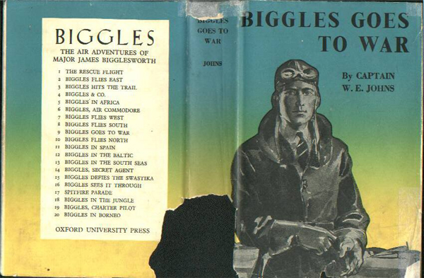 Biggles Goes To War - Cover of 15-08