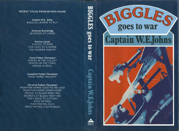 Biggles Goes To War - Cover of 15-19