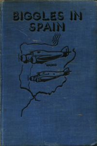 Biggles in Spain - Binding of 17-02