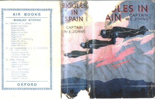 Biggles in Spain - Cover of 17-02