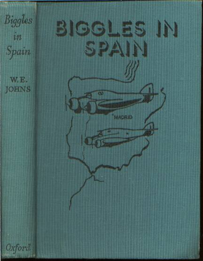 Biggles in Spain - Binding of 17-06