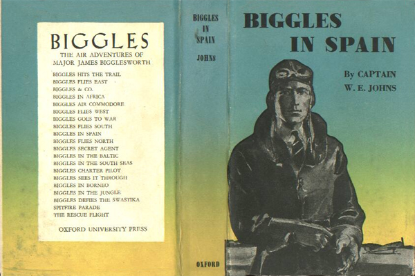 Biggles in Spain - Cover of 17-07
