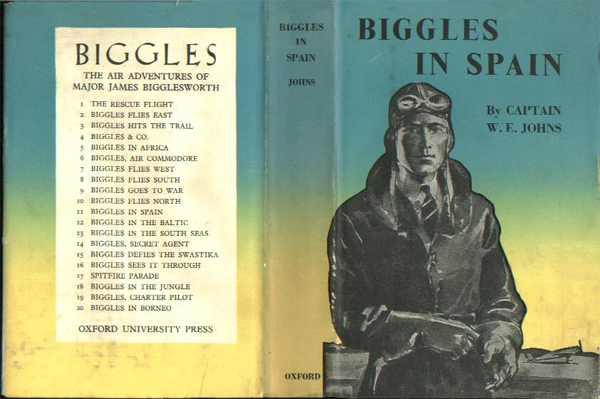 Biggles in Spain - Cover of 17-09