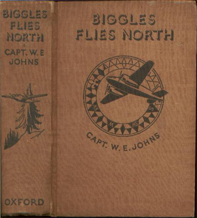Biggles Flies North - Binding of 18-01