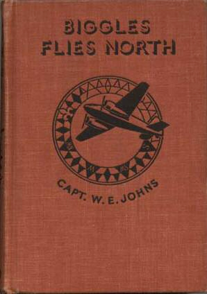 Biggles Flies North - Binding of 18-02