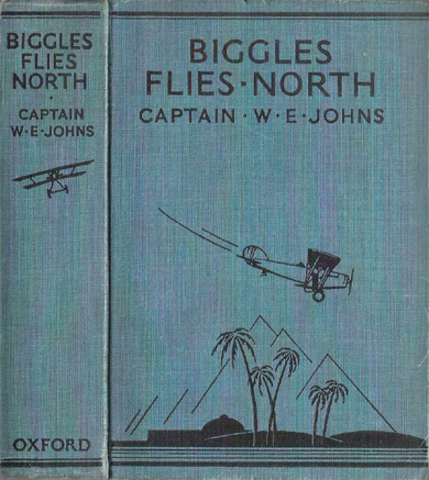 Biggles Flies North - Binding of 18-03