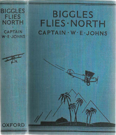 Biggles Flies North - Binding of 18-04