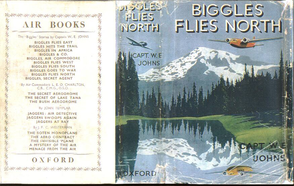 Biggles Flies North - Dustjacket of 18-04