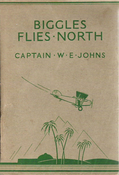 Biggles Flies North - Binding of 18-05