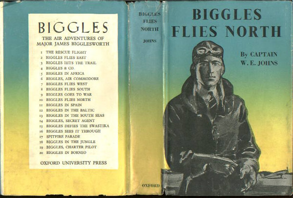 Biggles Flies North - Dustjacket of 18-09