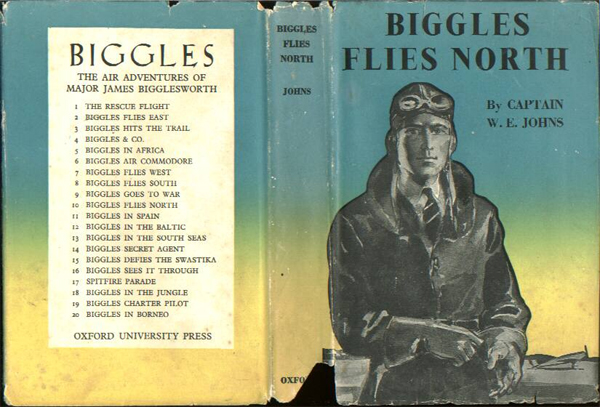 Biggles Flies North - Dustjacket of 18-10