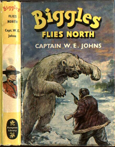 Biggles Flies North - Dustjacket of 18-11