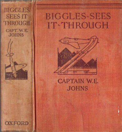 Biggles Sees It Through - Binding of 23-01
