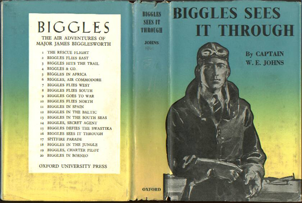 Biggles Sees It Through - Dustwrapper of 23-06