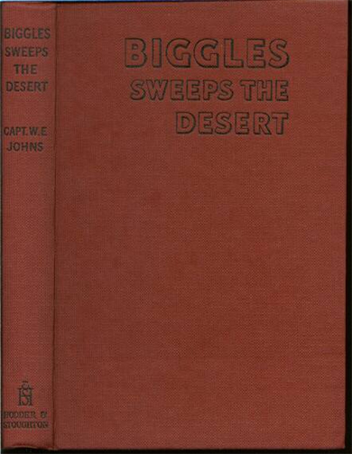 Biggles Sweeps the Desert - Binding of 26-05