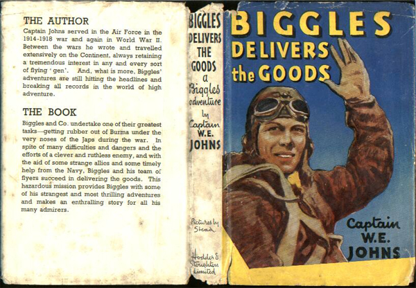 Biggles Delivers the Goods - Dustjacket of 31-03