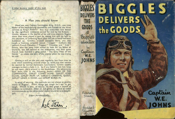 Biggles Delivers the Goods - Dustjacket of 31-04