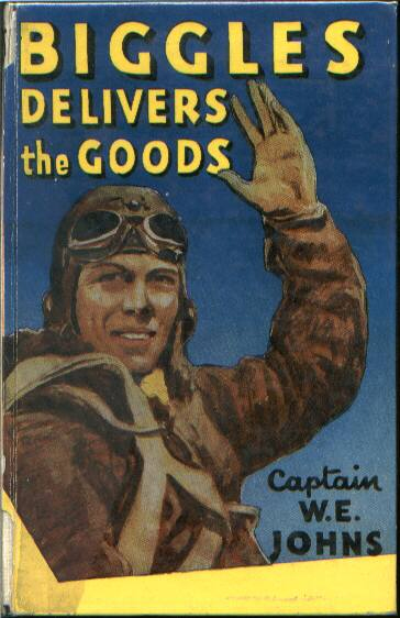 Biggles Delivers the Goods - Laminated cover of 31-06