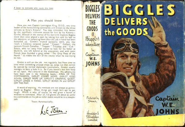 Biggles Delivers the Goods - Dustjacket of 31-07