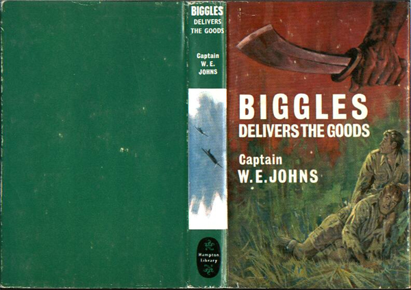 Biggles Delivers the Goods - Dustjacket of 31-08