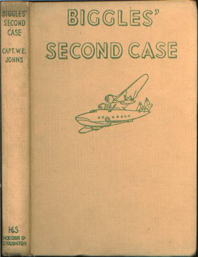 Biggles Second Case - Binding of 33-01
