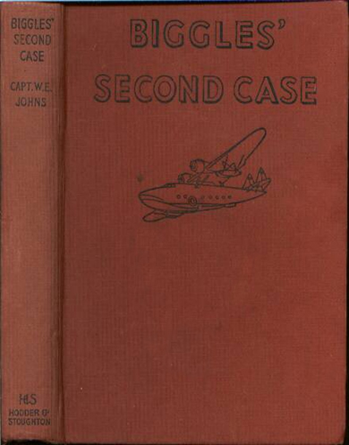 Biggles Second Case - Binding of 33-02