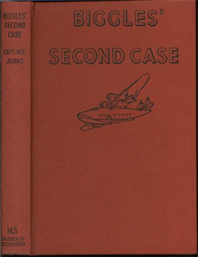 Biggles Second Case - Binding of 33-03