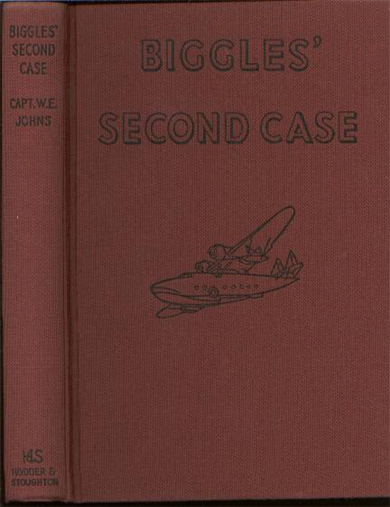 Biggles Second Case - Binding of 33-04