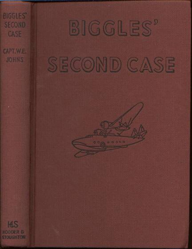 Biggles Second Case - Binding of 33-06