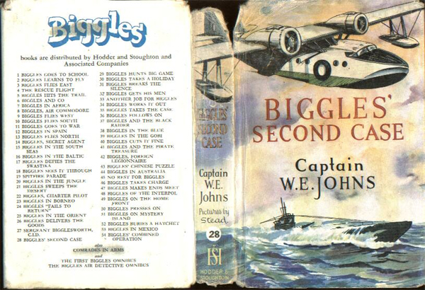 Biggles Second Case - Dustjacket of 33-06